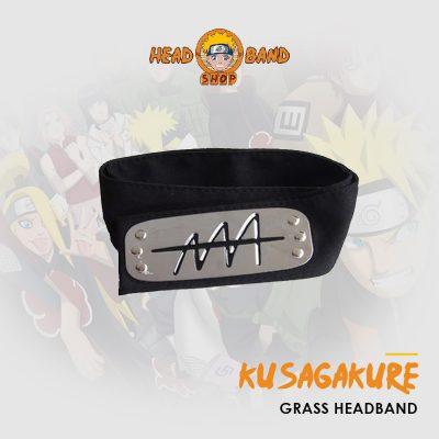 Naruto Headband Hidden Grass Village