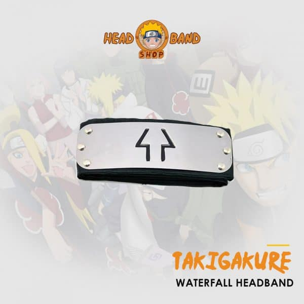 Naruto Headband Hidden Waterfall Village