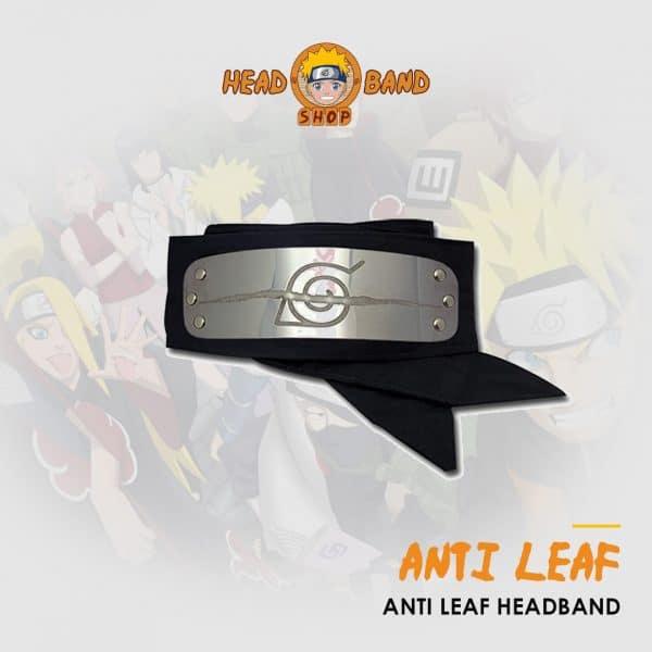 Naruto Headband Anti leaf village