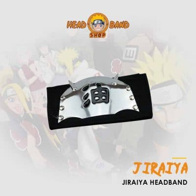 Naruto Headband Jiraiya The Toad Sage