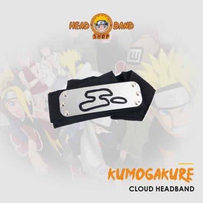 Kumogakure Cloud Headband Naruto headband