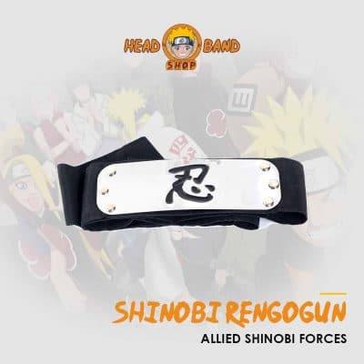 Naruto Headband Allied Shinobi Forces (Shinobi Rengōgun)